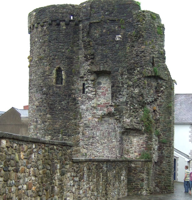 Carmarthen Castle Gatehouse
