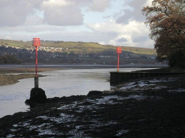 Outfall, Teign estuary
