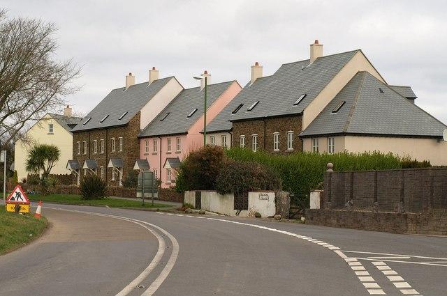 New housing, Hillhead