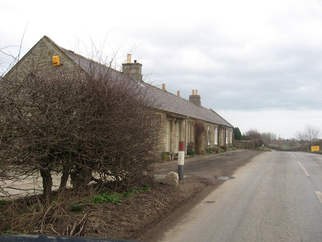 Farm Cottages at Spital Mains