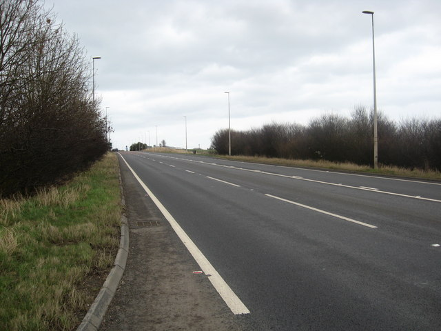 The A1 trunk road