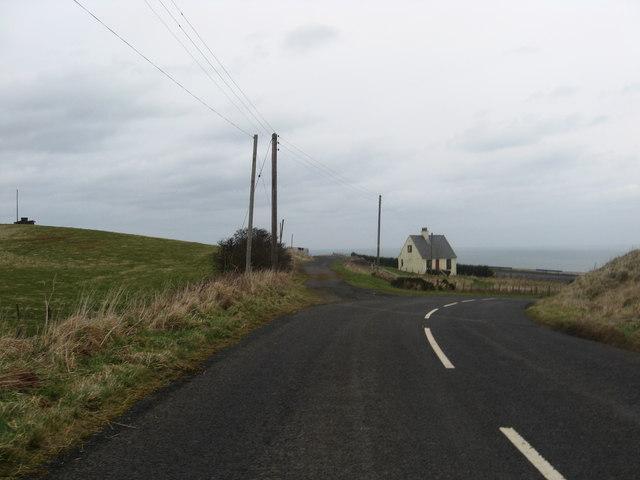 Lonely cottage near Lamberton