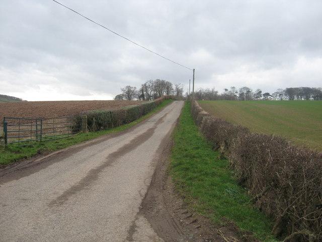Road to Aytonlaw Farm