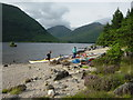 NM8172 : Camping at Seilag on an inland sea kayak trip by Andy Waddington