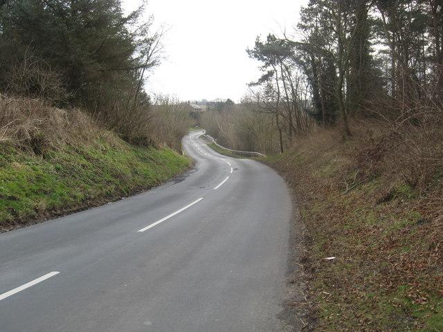 Road heading to Reston