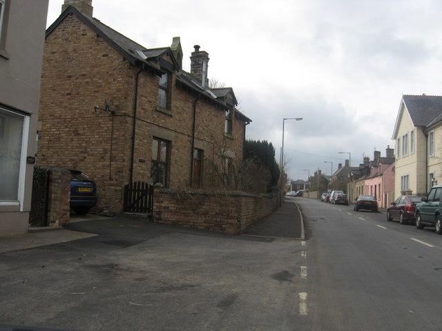 Reston in Berwickshire