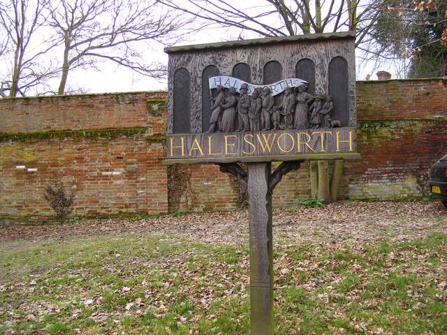Halesworth Town Sign