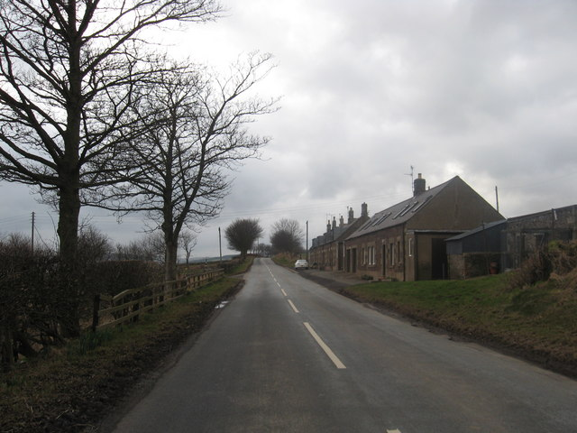 Cottages below Gallows Law