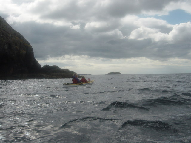 Passing Kirkaig Point