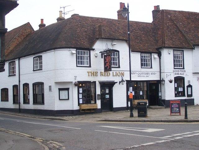The Red Lion Pub, Lenham