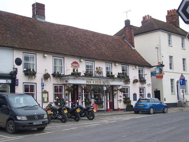 The Dog and Bear Hotel, Lenham