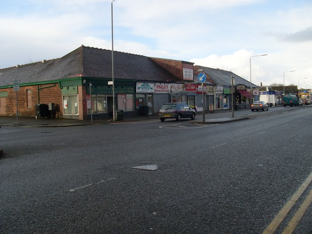 Paisley Road West shops