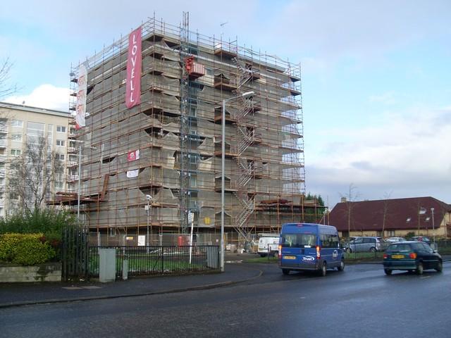 GHA redevelopment in Hillington