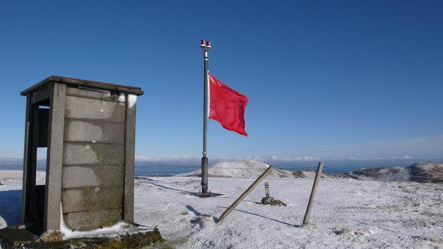 Summit of Castlelaw Hill
