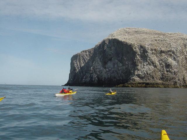 Crossing towards Bass Rock