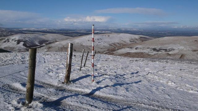 Range boundary