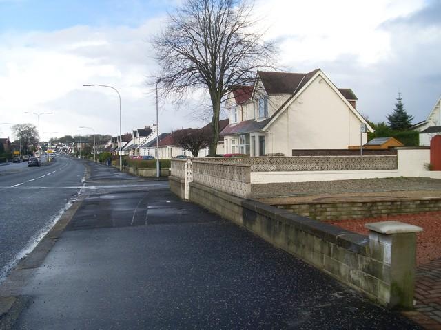 Ralston houses, Glasgow Road