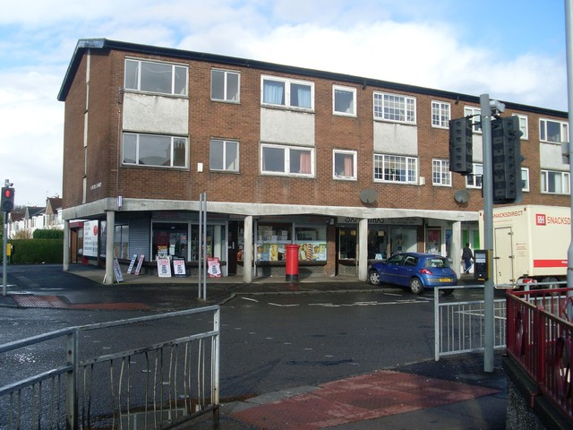 Shops and flats, Penilee Road
