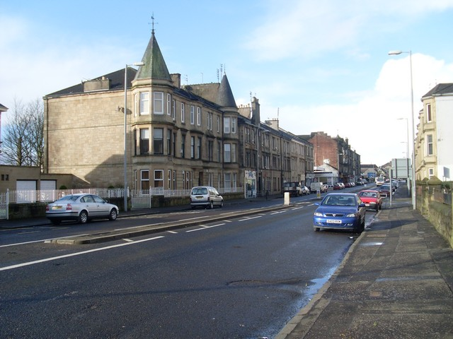 Grandiose tenement design in Paisley