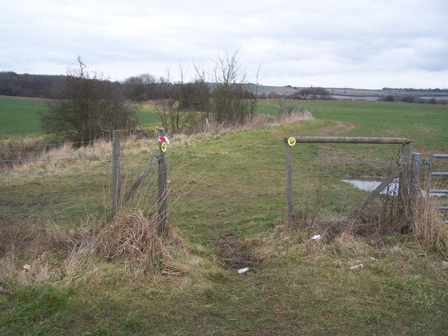 Bridleway on Lenham Heath Road