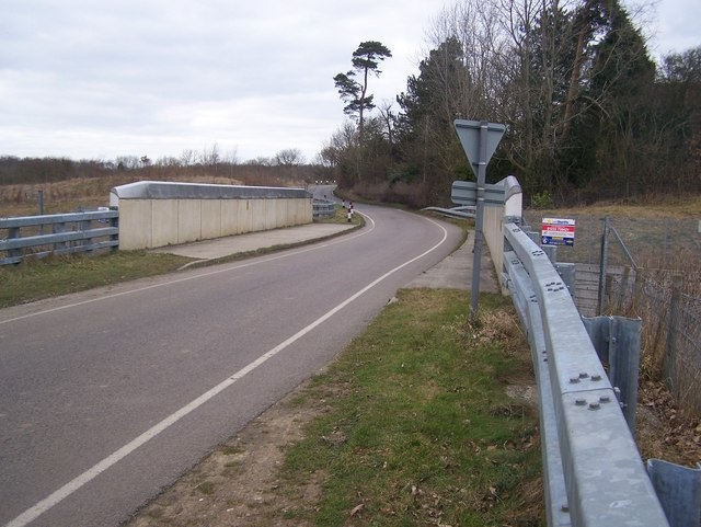 Boughton Road bridge over CTRL