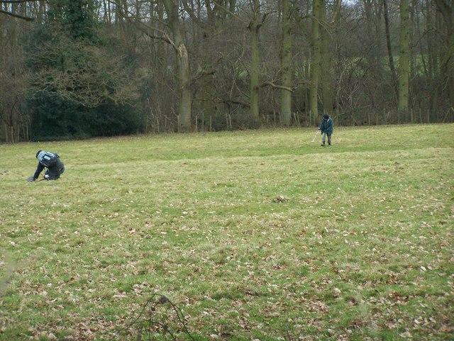 Metal Detectors in Chilston Park Ground