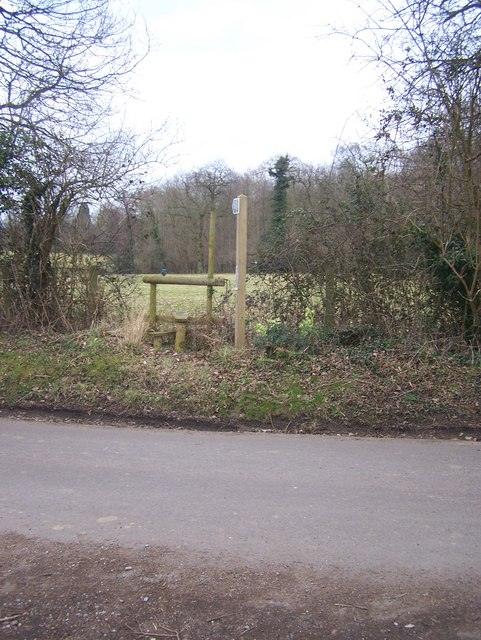 Footpath to Chilston Park