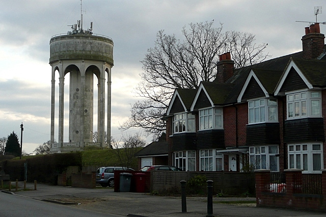 Tilehurst water tower