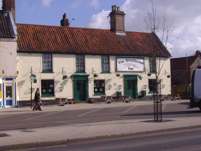 The Greyhound Inn, Swaffham