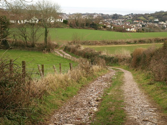 Track approaching Windmill Copse