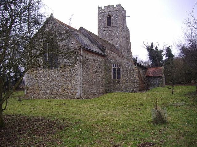 The parish church of Saint Peter
