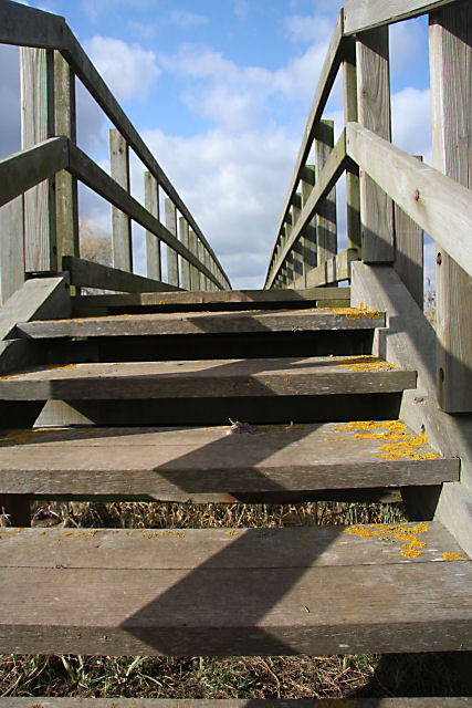 Footbridge over the Counter Drain