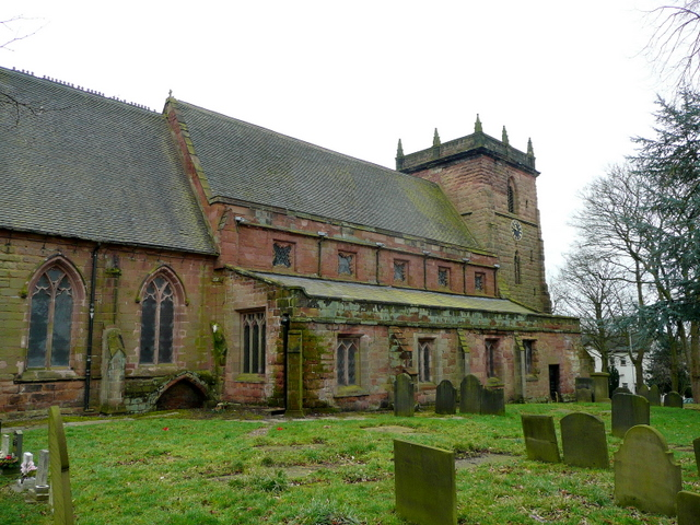 St. James' church, Audley