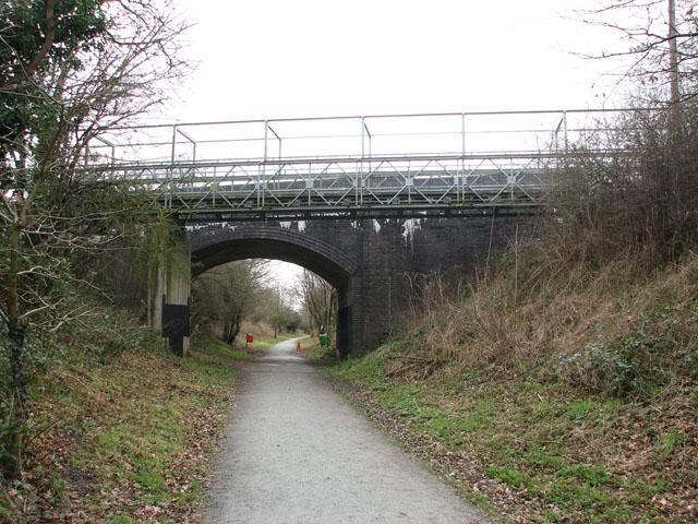 Bridge over the Marriott's Way