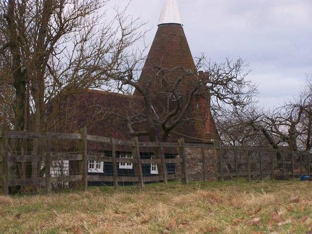 Oast House in Runhams Farm