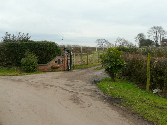 Entrance to The Fields