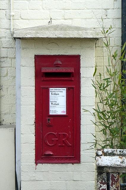 George V postbox