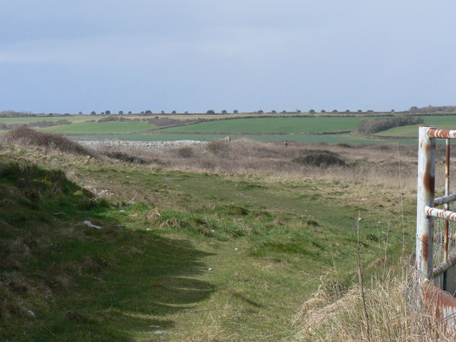 The Walls on the coast of Limpert Bay, Gileston.