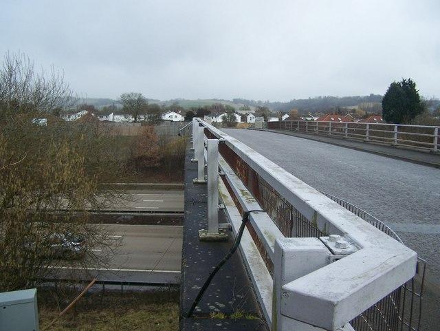 Fairbourne Lane crosses over M20 Motorway