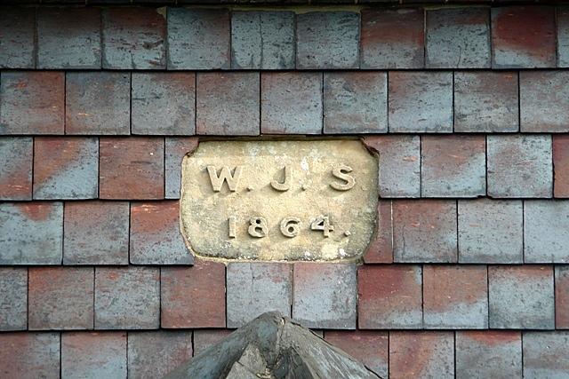 House builder's plaque