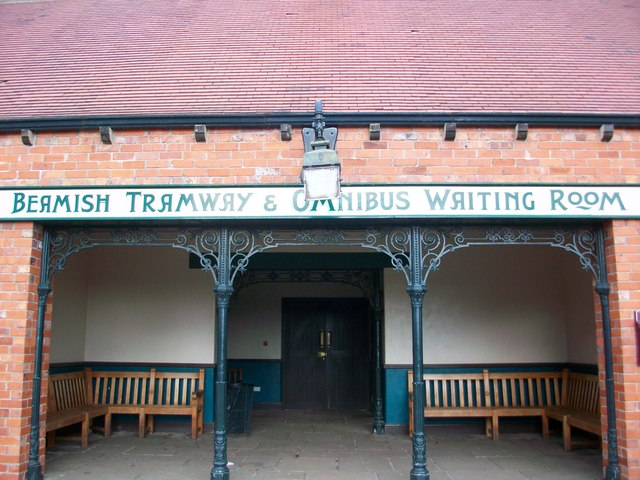 Waiting room at Beamish