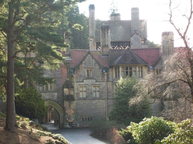 North front, Cragside