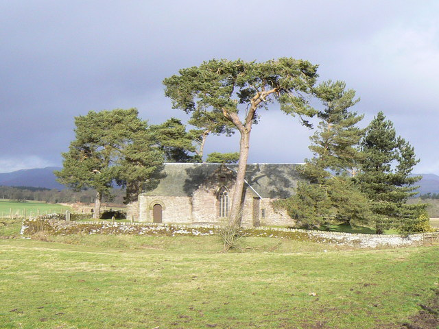 Trees around the chapel