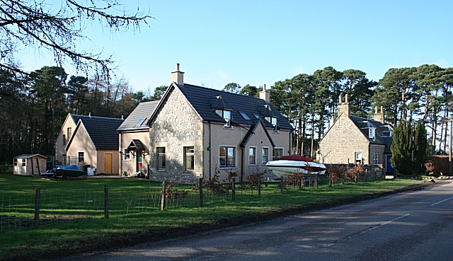 Houses at Cranloch