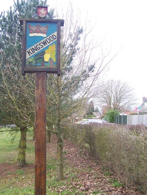 Kingswood Village Sign