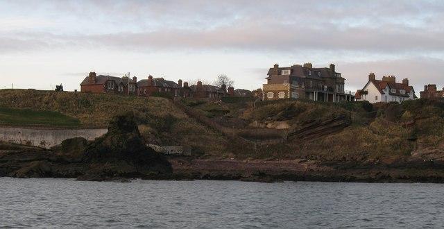Dunbar from the sea
