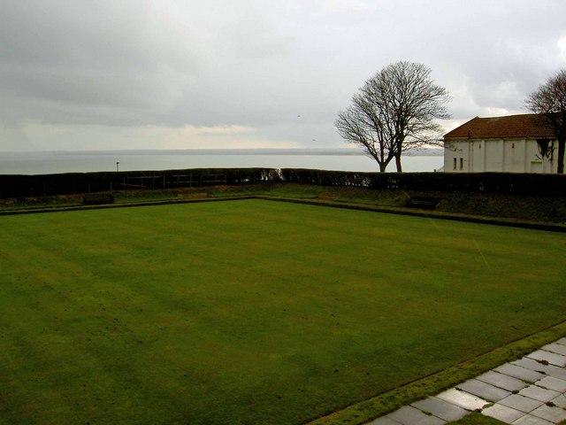 A wet bowling green Ramsgate