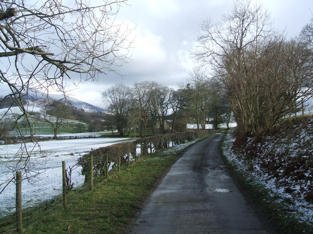 Road to Old Scales Farm