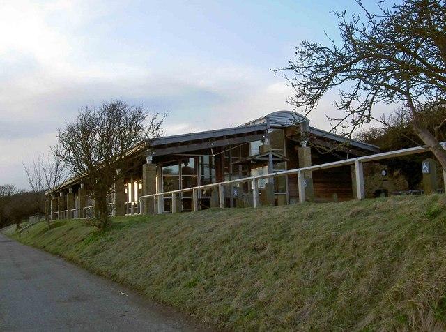 National Trust café, White Cliffs, Dover