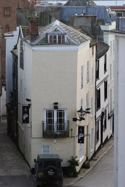 The rear of Castle Street